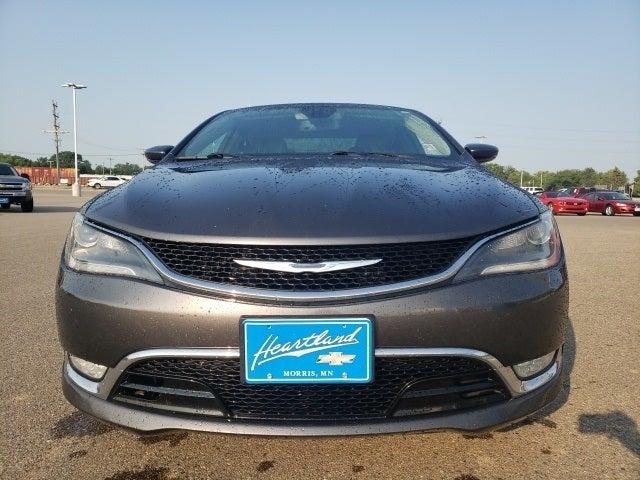 Used 2015 Chrysler 200 C with VIN 1C3CCCEG6FN585727 for sale in Morris, Minnesota