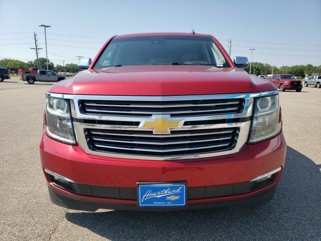 Used 2015 Chevrolet Suburban LTZ with VIN 1GNSKKKC9FR255649 for sale in Morris, Minnesota